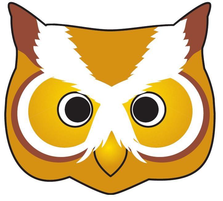 Как сделать маску совы из бумаги