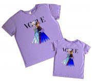 """Набор футболок с любимым персонажем """"Ельза и Анна"""""""
