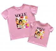 """Набор футболок со смешным принтом """"Прынцессы"""""""