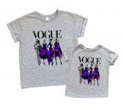 """Набор футболок 2 штуки с принтом """"Ведьмочки дисней"""""""