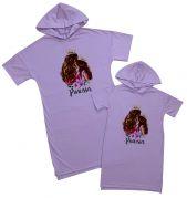 """Набор одинаковых платьев для мамы и дочки """"Princess"""""""