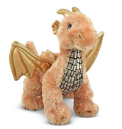 Мягкая игрушка Блестящий Дракоша