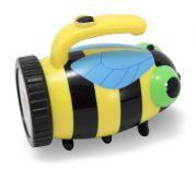 """Детский игрушечный фонарик """"Пчелка"""""""