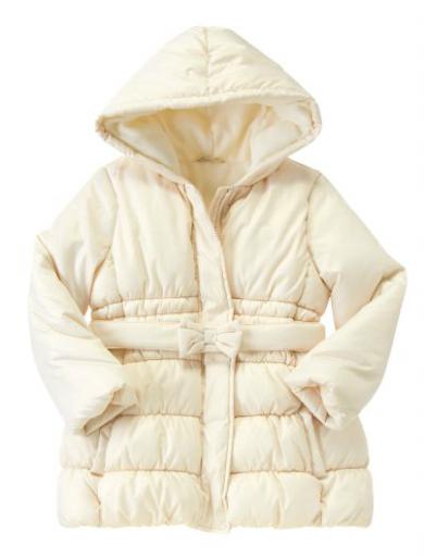 Зимнее полу пальто ЗОЛОТО американского бренда Crazy8
