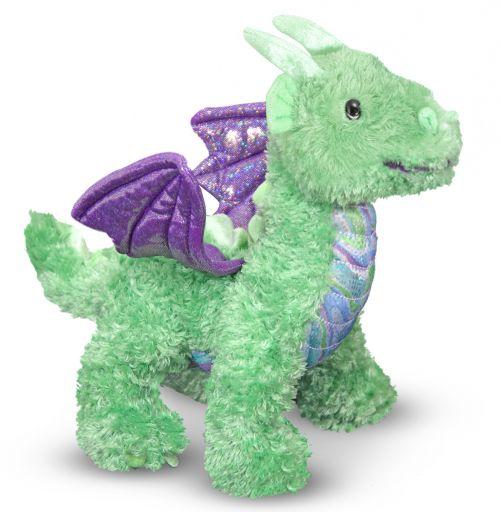 Мягкая игрушка дракоша Зефир
