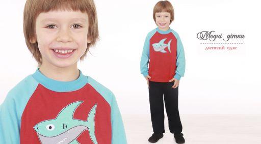 Джемпер для мальчика SHARK
