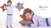 """Детская пижама с удлиненными манжетами """"Машинки"""""""