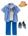 Тенниска для мальчика (синяя клетка)