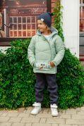 Демисезонная курточка для детей КОСУХА (мята)
