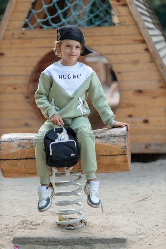 Спортивный костюм для девочек и для мальчиков (фисташка)