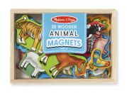 Набор деревянных фигурок на магнитах