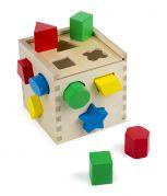 Сортировочный куб из дерева