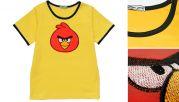 Футболка Angry Birds желтая