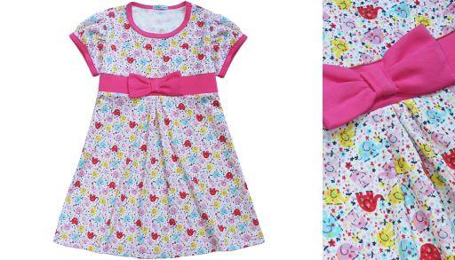 Летнее платье для девочек ЛЕТО