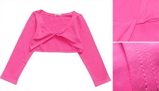 Болеро для девочки на лето (розовое)
