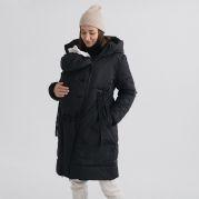 Слингокуртка демисезонная, куртка для беременных 3в1 (олива)