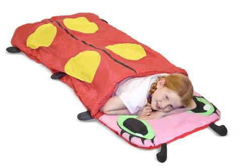 """Детский спальный мешок для туризма """"Божья коровка"""""""
