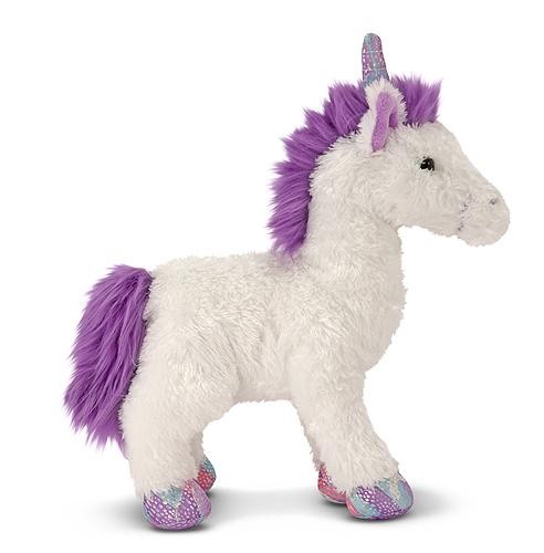 Мягкая игрушка для девочек единорог Мисти