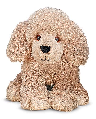 Пушистая мягкая игрушка щенок Пуделя