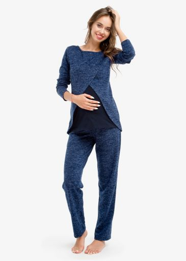 Стильный костюм для беременных из ангоры TOPAZZIO