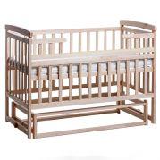 Деревянная детская кроватка-трансформер Лодочка (натуральная)