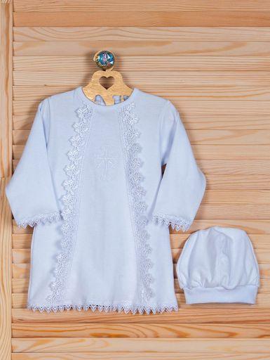 Крестильная рубашка для новорождённого карапуза