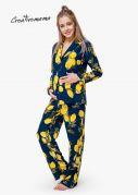 Женская пижама LIMONCELLO (штапель)