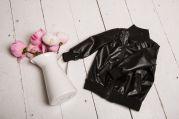 Демисезонная курточка для мальчиков и девочек (черный)