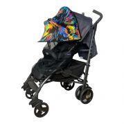 Двойной защитный козырек в коляску + черная москитная сетка Must Have Shade (краски)