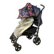 Двойной защитный козырек в коляску + бежевой москитная сетка Must Have Shade (тропики)