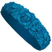 Итальянский браслет Big Flower Bracelet (синий)