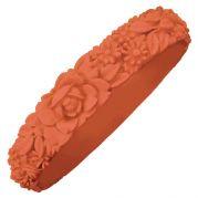 Итальянский браслет Slim Flower Bracelet (лосось)