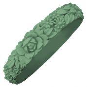 Итальянский браслет Slim Flower Bracelet (фисташка)