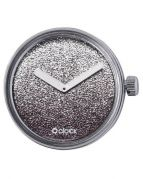 Циферблат O clock Gold and Silver Glitter Серебро