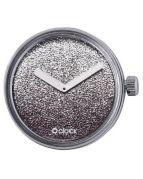 Циферблат O clock Gold and Silver Glitter Серебро
