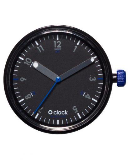 Циферблат O clock 60 Seconds (черный с синим)