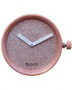 Циферблат O clock Glimmer Розовый крем