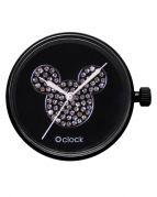 Циферблат O clock Mickey Crystal Черный