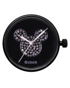 Циферблат O clock Mickey Crystal Черный