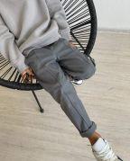 """Котоновые брюки для мальчика """"CRYO"""" (серый)"""