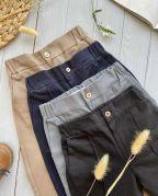 """Котоновые брюки для мальчика """"CRYO"""" (чёрный)"""