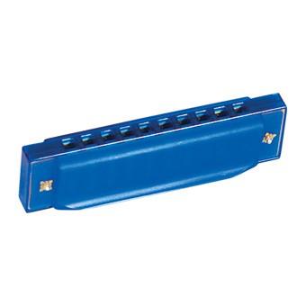 Детская губная гармошка (синий)