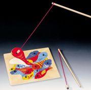 Детская игра рыбалка (2 удочки) на магните