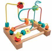 Лабиринт с бусинками для малышей