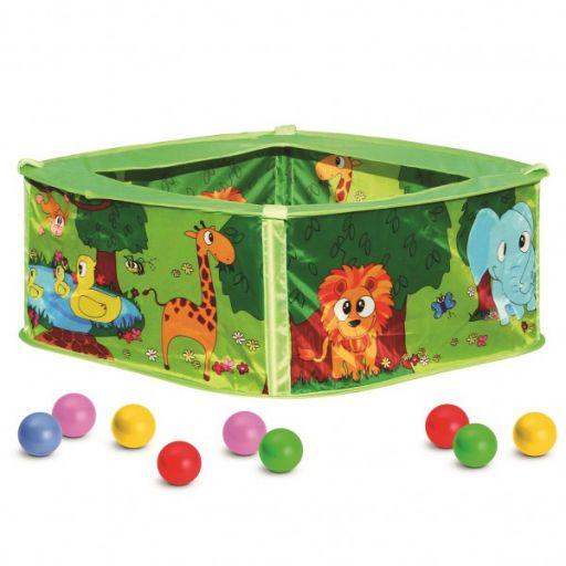 Сухой детский бассейн с шариками