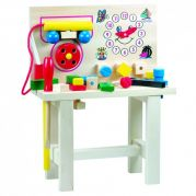 Стол для юного мастера с часами