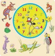 Ферда деревянный часы пазл