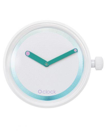 Циферблат O clock Glossy Mirror Голубая лагуна