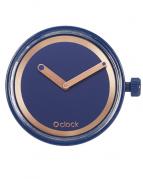 Циферблат O clock Metal Ring Кобальт