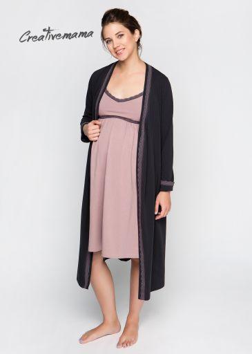 Халат и ночная сорочка в роддом для беременных DOLCE